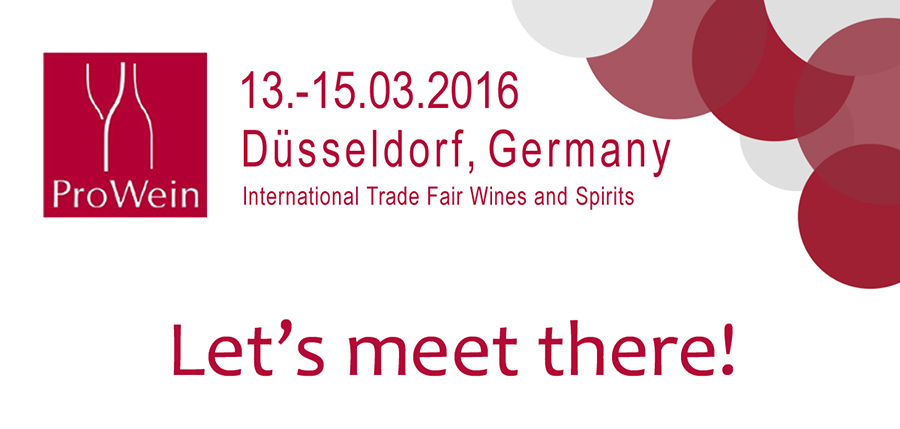 Foire Internationale Prowein Düsseldorf 2016