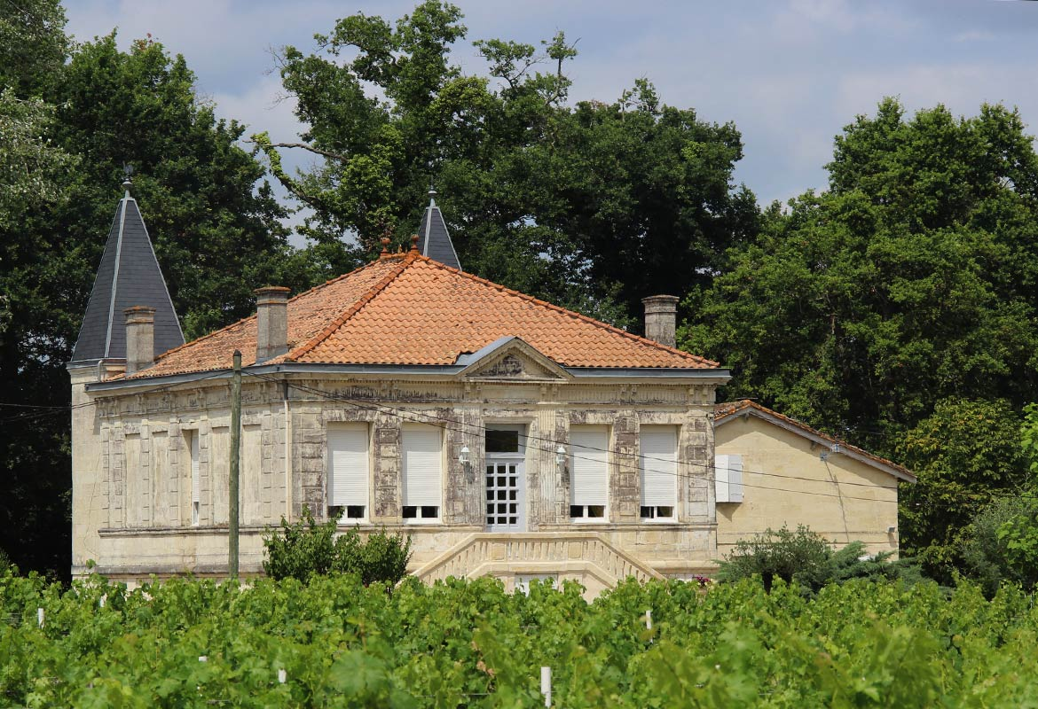 Le Château and its cellars